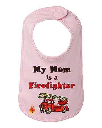 Amazon.com: Paquete Especial, mi mamá es un bombero infantil ...