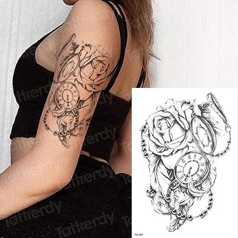 3pcs Tatuaje Brazo Manga Tatuaje Apliques patrón 3pcs-5: Amazon.es ...