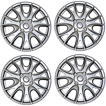 Amazon Com Hubcaps 15 Inch Wheel Covers