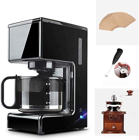 LTLWSH Máquina de café, 680W cafetera de Filtro, con Filtro Reutilizable y función de Mantener Caliente, Sistema antigoteo 0.75litros y Libre de BPA: Amazon.es: Hogar