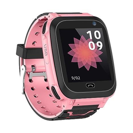 T Reloj Inteligente DS38 para niños, Alarma de posicionamiento de LBS Anti-