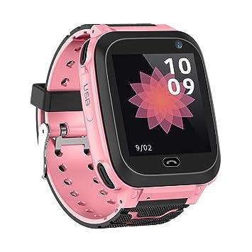 Quiet.T Reloj Inteligente DS38 para niños, Alarma de posicionamiento de LBS Anti-perdida, Tarjeta sim de Soporte, con cámara de 120W de píxeles, para ...
