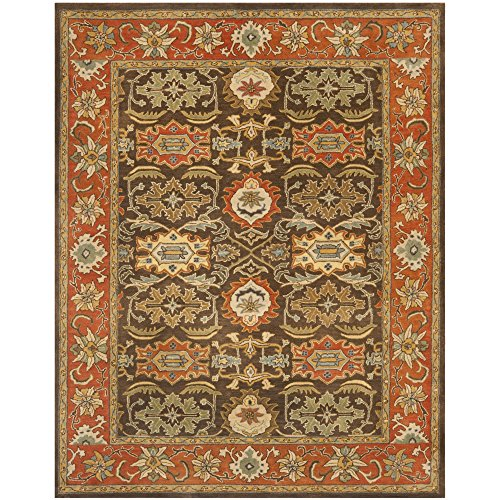 Heritage Traditional Rugs - Safavieh Heritage Collection HG734C Handcrafted Traditional Oriental Light Grey and Grey Wool Area Rug (9'6