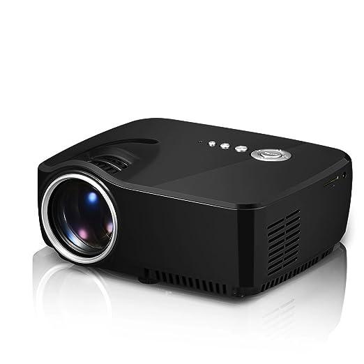 Proyector LED portátil, Compatible con proyector de Video ...
