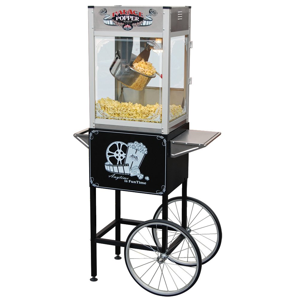 Funtime Palace Popper 16-Ounce Commercial Bar Style Popcorn Popper - FT1665PP