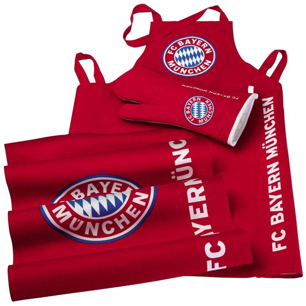 FC Bayern München Grill-Set Edelstahl, 2-teilig