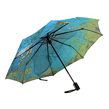 Travel umbrellas world map windproof compact folding umbrella for travel umbrellas world map windproof compact folding umbrella for menwomen one handed auto open gumiabroncs Choice Image