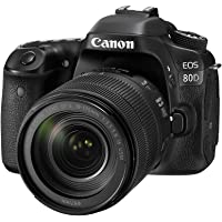 Canon EOS 80D Super Kit with EFS 18-135mm f 3.5-5.6 IS USM Digital Camera - SLR(80DSK) 3Inch Display,Black (Australian…