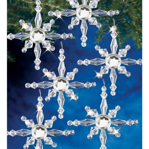 Beadery BOK-7281 Holiday Beaded Ornament Kit, North Star by Beadery (Ornament Northstar)
