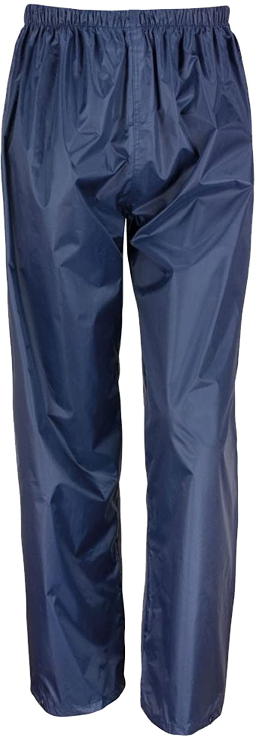 Wetplay Waterproof Navy Blue Over Trousers For Kids Childs Boys Girls Childrens 3-12 Years