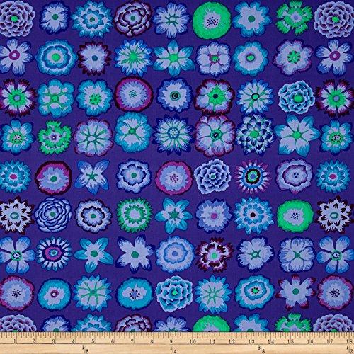 (FreeSpirit Fabrics Kaffe Fassett Collective Button Flowers Purple Fabric by The Yard,)