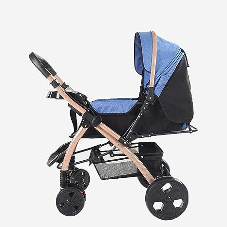 Cochecito de bebé puede sentarse reclinable ligero plegable ...