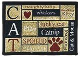 Cheap Park B. Smith ILCA17 SDC I Love Cats Mat, 13″ x 19″
