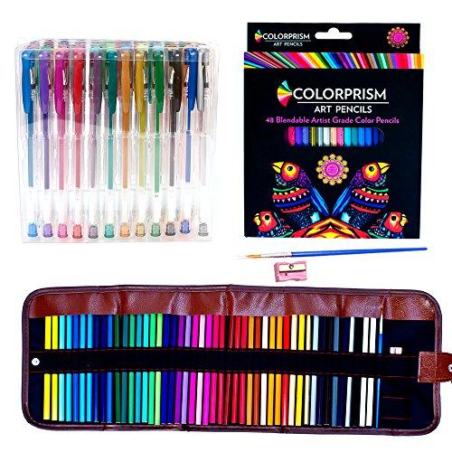 ultimate-adult-coloring-set-48-vibrant-colored-pencils-48-gel-pens-case-sharpener-brush