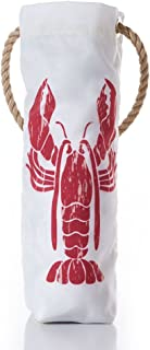 product image for Sea Bags Recycled Sail Cloth Lobster Pound Wine Bag