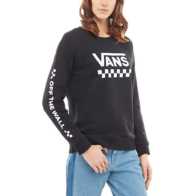 Vans Sudadera Too Much Fun Negro Talla: L (Large): Amazon.es: Deportes y aire libre