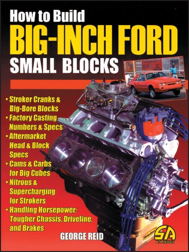 How to Build Big-Inch Ford Small Blocks (Cartech) (Engines Ford Block Small)