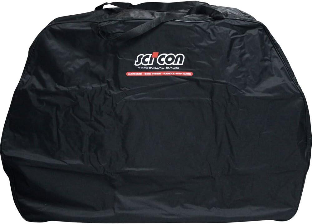 Scicon Travel Basic - Bolsa de ciclismo, color Negro, 130 x 25 x 82 cm