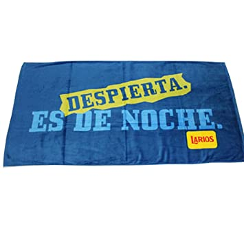 Verano Estilo (azul letras Larios) toallas de playa/toalla de baño, azul (170 * 85 cm): Amazon.es: Hogar