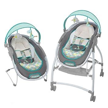 Silla Mecedora Eléctrica Para Bebés Cuna Para Bebés Coche De Empuje ...