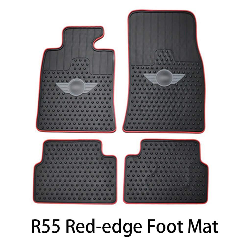 Dreanni Auto Gummi bodenmatte Carpet fracht pad Decor f/ür bwm Mini Cooper one d Countryman f54 f55 f56 f60 r55 r56 r60 Auto zubeh/ör