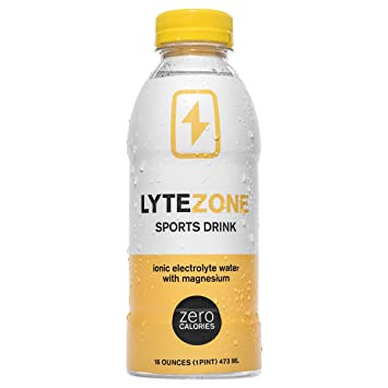 LyteZone Electrolyte Sports Drink for Rapid Sports Rehydration with Ionic Magnesium, 6 Count