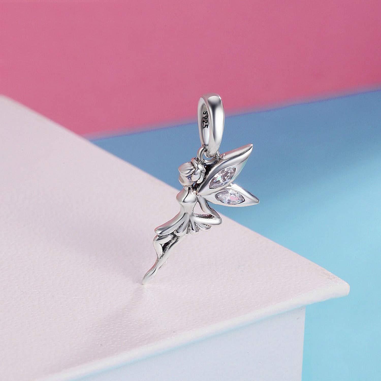 EverReena Beads Flower Fairy for Silver Bracelets