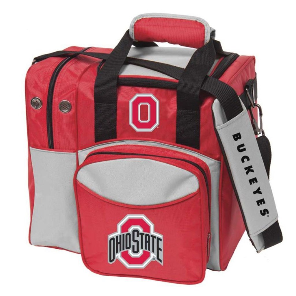 Bowlerstore Products Ohio State University Single Bowling Bag, Multi-color by Bowlerstore Products