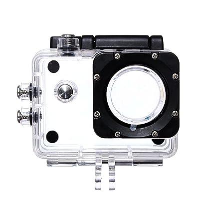Funda para cámara de acción transparente para SJ4000: Amazon.es: Electrónica