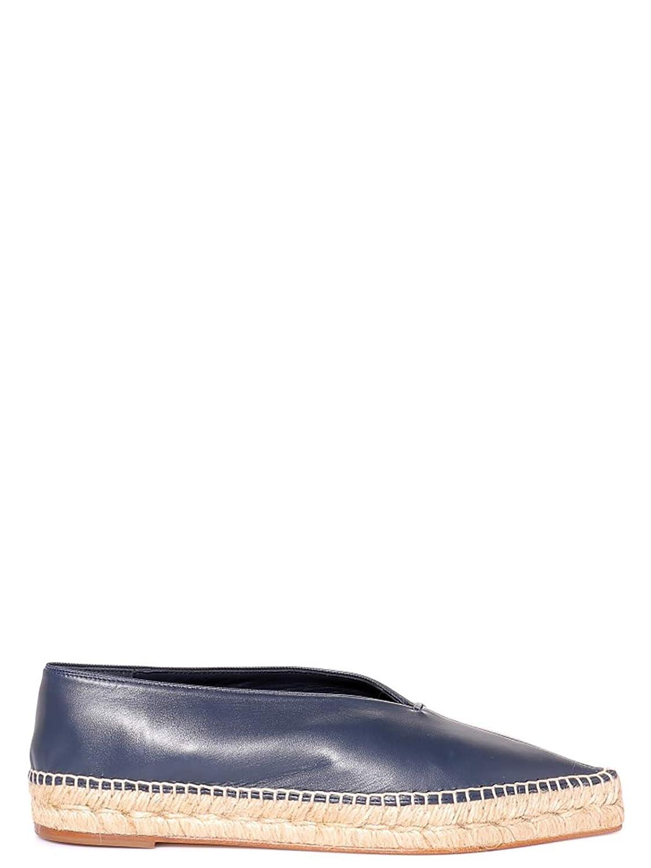 Céline Damen 320893NSP07NY Blau Leder Leder Blau Espadrilles ef5db6