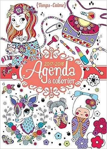 Agenda à colorier (Temps calme): Amazon.es: Eugénie Varone ...