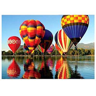 DFHYAR Games - Signature Collection - Hot Air Balloon - 1000 Piece Jigsaw Puzzle, Multi Puzzles 27 x 20 Inches: Toys & Games