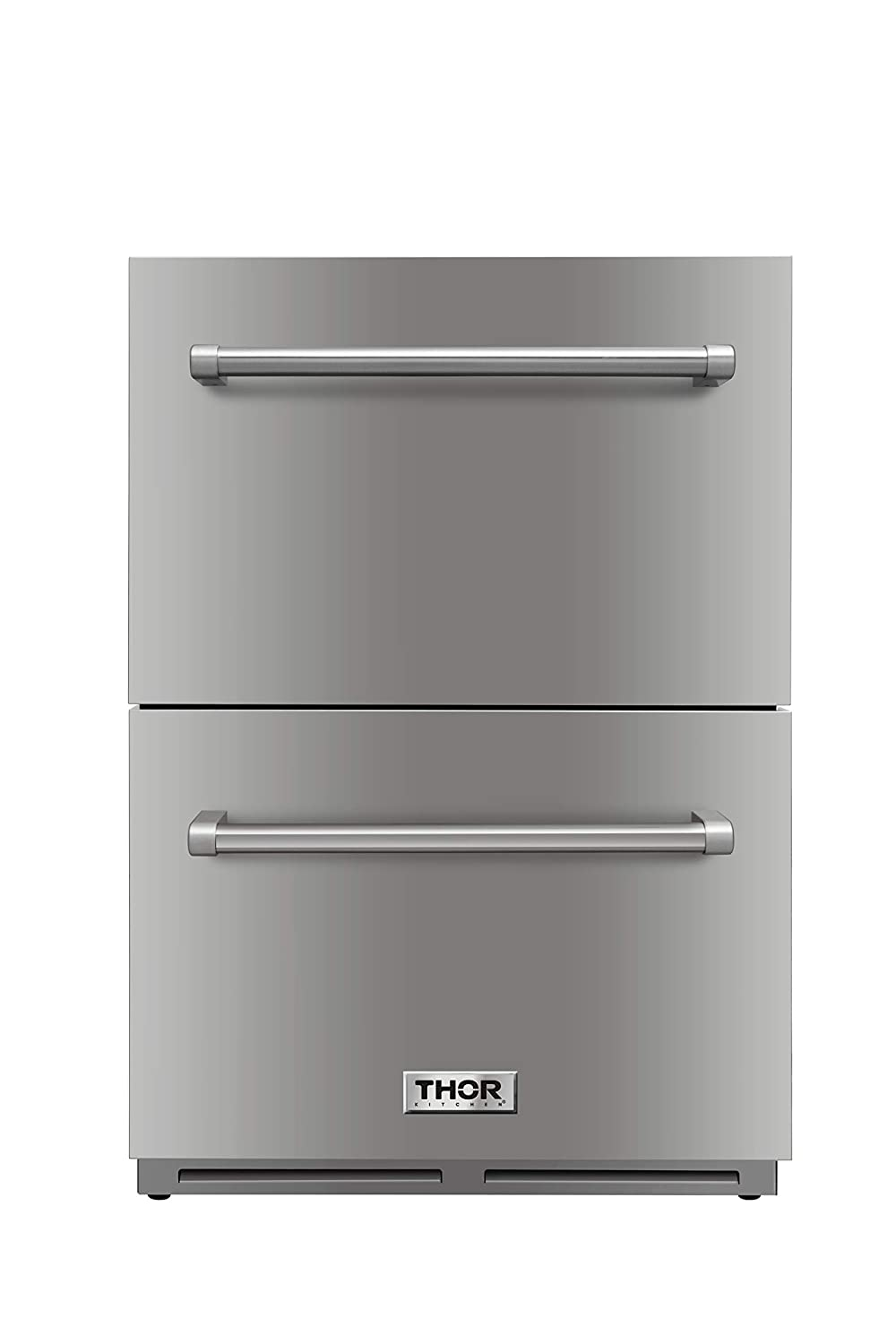 Thor Kitchen 5.3cu.ft Built-in Compact Refrigerator Ventilated Cooling Under Counter Mini Fridge - Stainless Steel - 1 Years Warranty