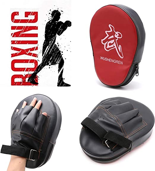 Boxing Glove Mitt Training Target Punch Pad Glove MMA Karate Combat Thai Kick
