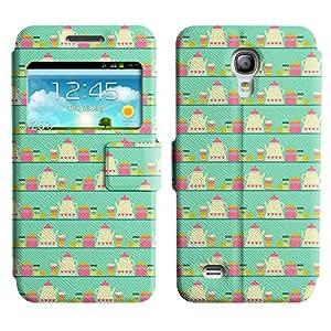 LEOCASE Tetera Y La Taza Funda Carcasa Cuero Tapa Case Para Samsung Galaxy S4 Mini I9190 No.1000839