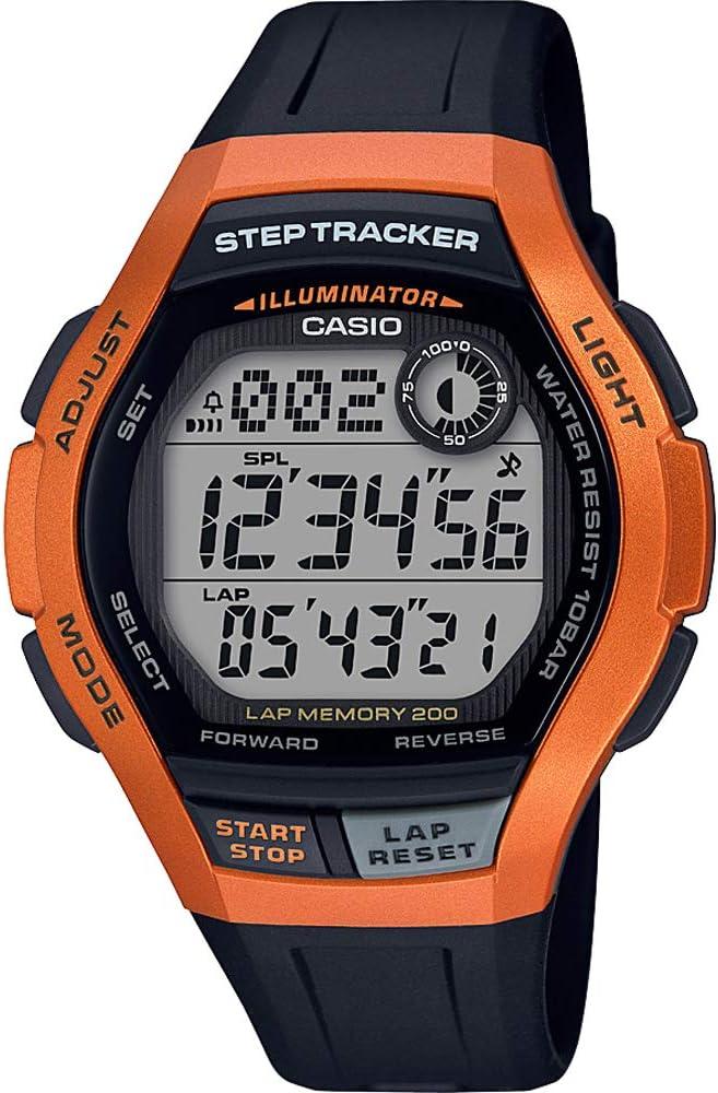 Casio Reloj Digital para Hombre de Cuarzo con Correa en Resina WS ...