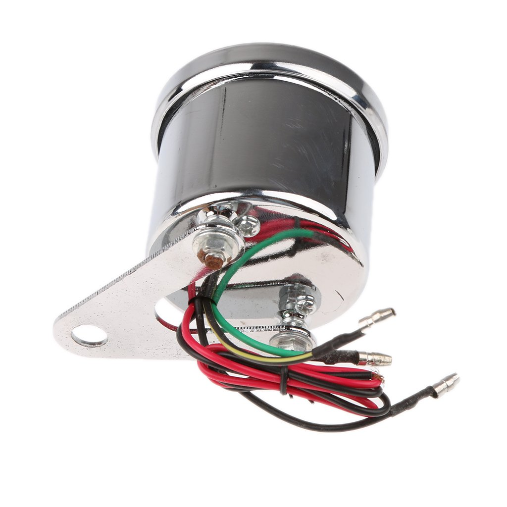Motorrad LED Backlight Universelle Drehzahlmesser Tachometer Tachoanzeige