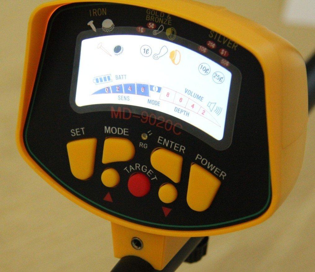 Amazon.com : MD-9020C Ground Search Metal Detector Treasure Hunter Gold Digger : Garden & Outdoor