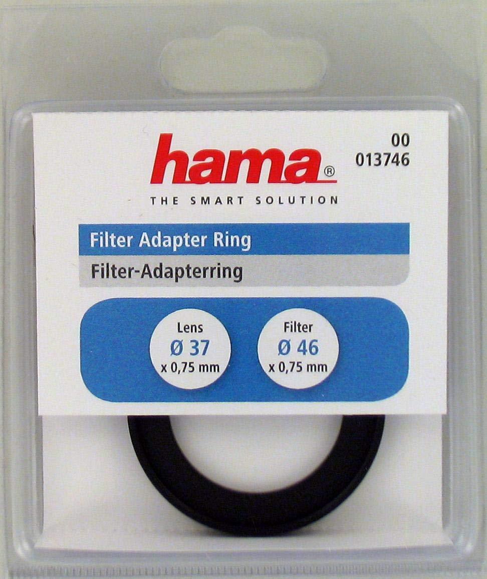 Hama filtro /Ø: 49,0 mm Negro objetivo /Ø: 37,0 mm Anillo adaptador