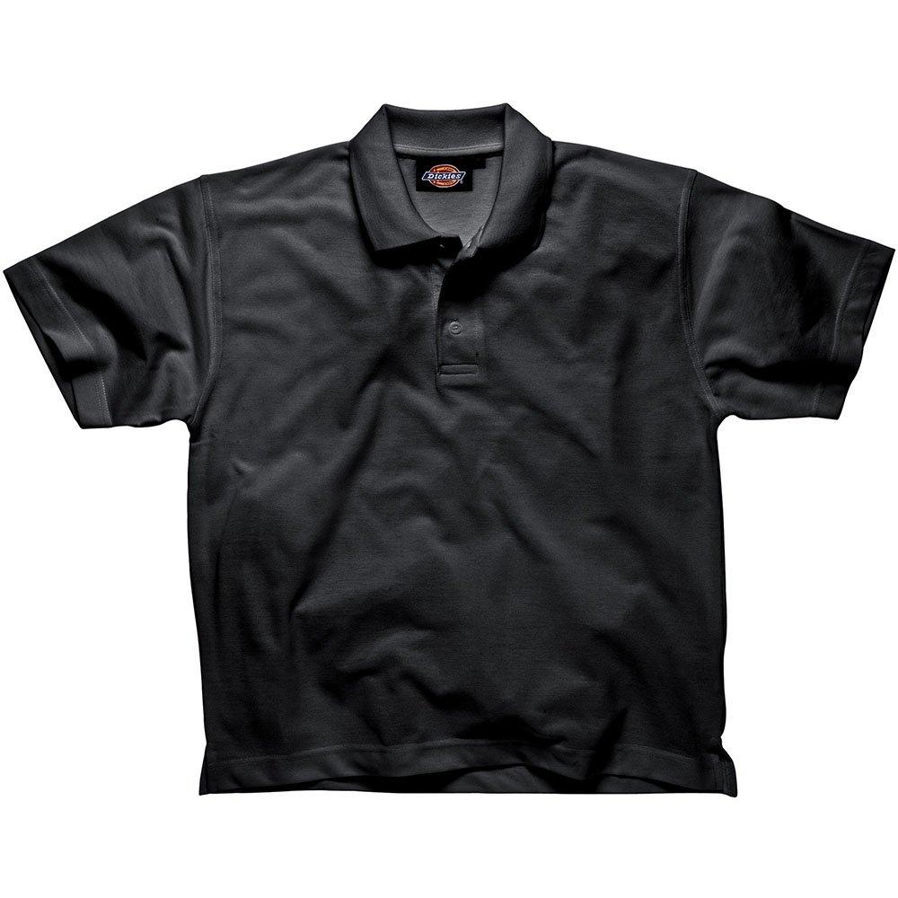 Dickies Polo de manga corta SH21220, negro, SH21220