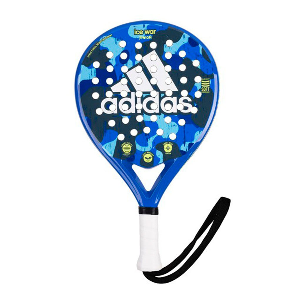 Pala de pádel de niños Ice War Junior Adidas Padel: Amazon ...