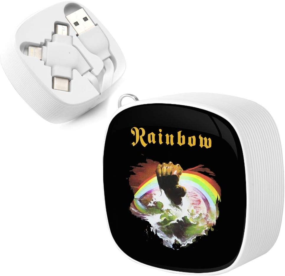 Rainbow Rising One for Three Charging Cable Retractable Three in One Mobile Phone Fast Charging Customized Logo