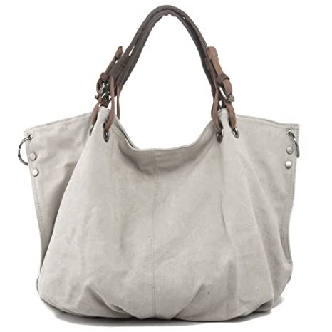 7f112a05c6 P.KU.VDSL Donna Borse ragazze Shoulder Bag, Retro Della Tela di ...