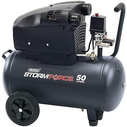 Draper DA50/322tv 2.4 hp compresor de aire, 230 V, Azul
