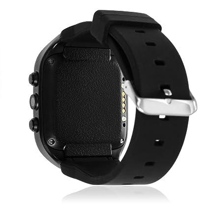 DAM - Smartwatch Bluetooth X1 Black. Sistema Android 4.4.2 incorporado. Acepta SIM y micro sd de hasta 32gb. Conexión Wi-fi. dial de teléfono, ...