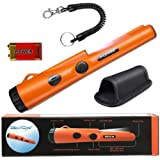 Fully Waterproof Pinpoint Metal Detector Pinpointer - Include a 9V Battery, 360°Search Treasure Pinpointing Finder Probe with