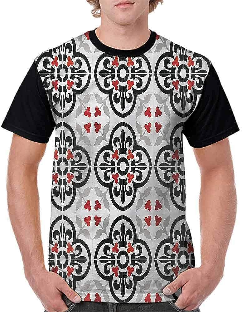 Vintage T-Shirt,Random Brushstrokes Woodwind Fashion Personality Customization