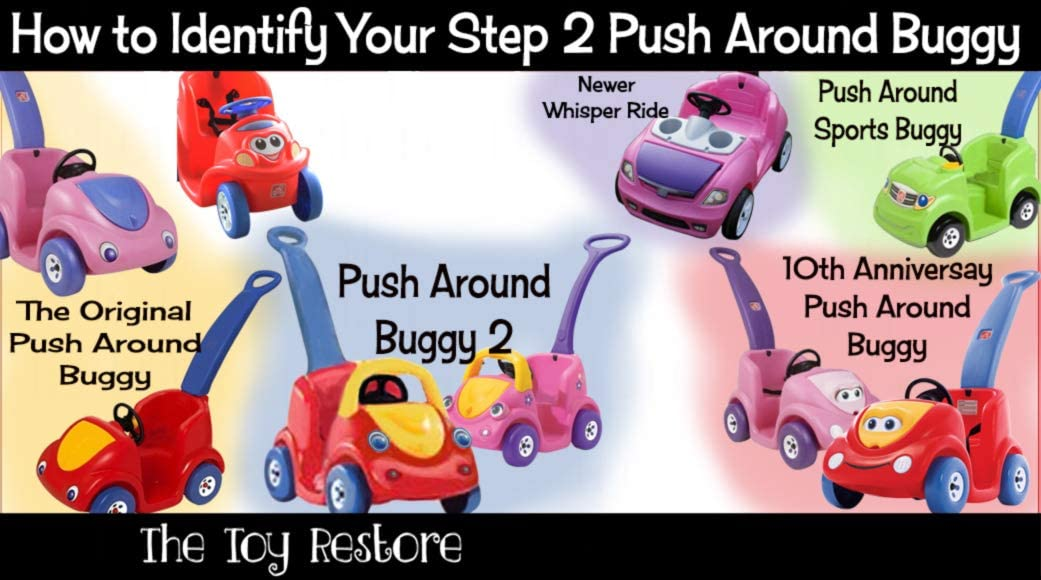 Step2 Whisper Ride Replacement Decals Stickers Push Around Buggy Cruiser On Car