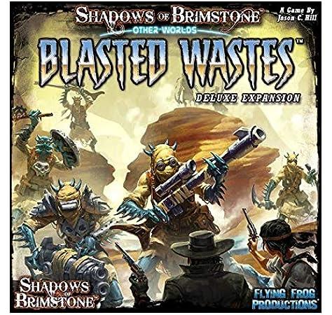 Flying Frog Productions Shadows of Brimstone: Other Worlds Blasted Wastes - Expansión Juego de Mesa: Amazon.es: Juguetes y juegos