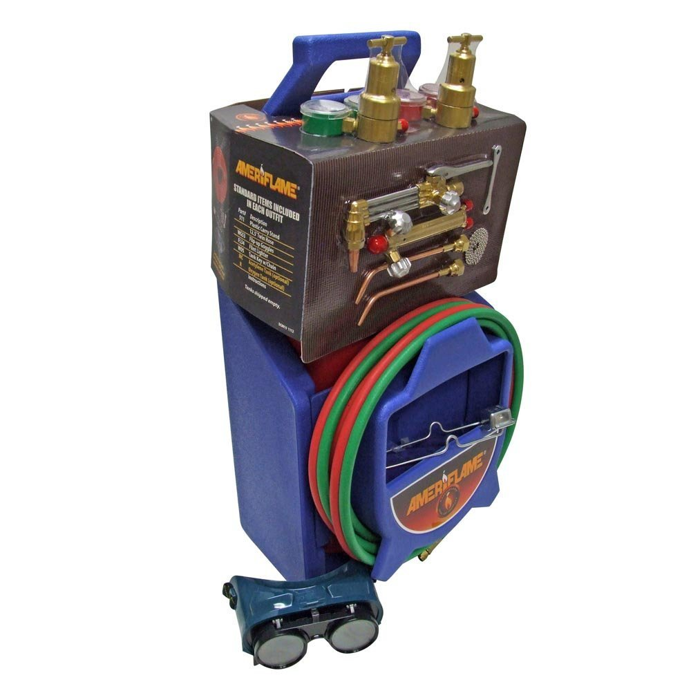 Ameriflame TI100AT Medium Duty Portable Welding//Cutting//Brazing Outfit